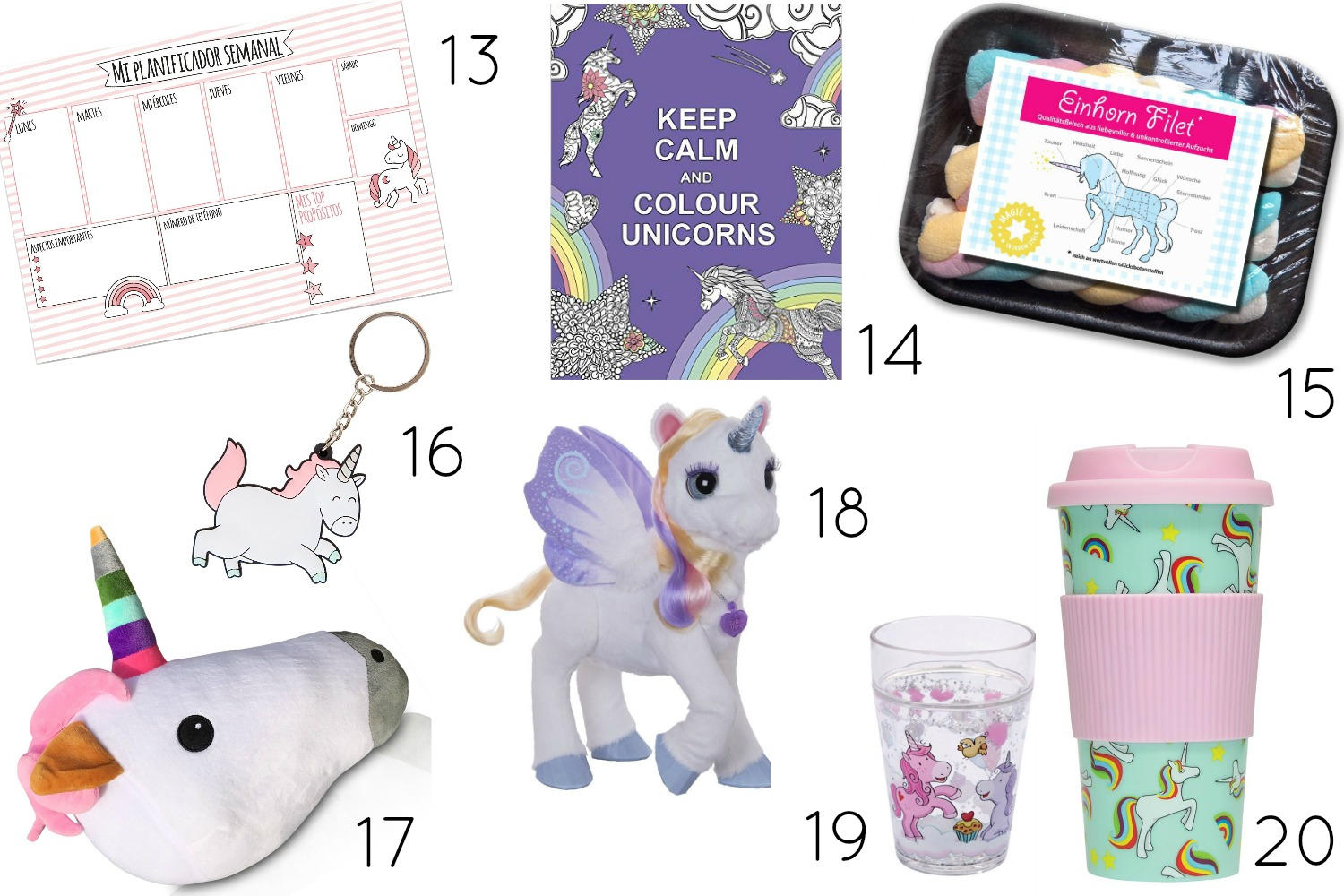Tendencias de regalo: Unicornios