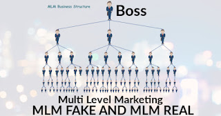 Bisnis Usaha Rekrutmen MLM Asli dan MLM Palsu atau Tipuan