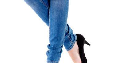 Gunakanlah celana yang tidak terlalu ketat dan dari bahan jeans
