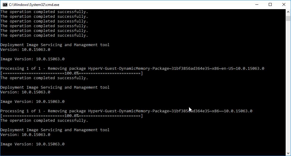 Hướng dẫn tạo Batch script gỡ bỏ gói package mặc định của Windows 10