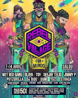 Programa Rebel Village 2019  em Salou