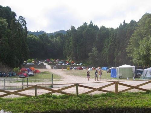 Campismo Nos Açores 2013