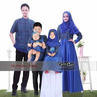 contoh desain baju lebaran keluarga