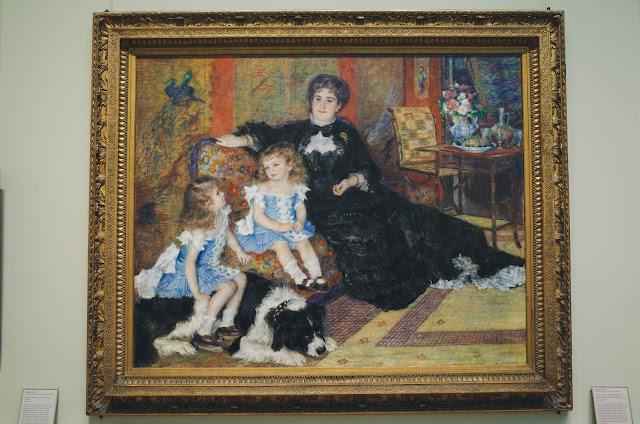 Renoir and His Contemporaries|ジョルジュ・シャルパンティエ婦人と子どもたち