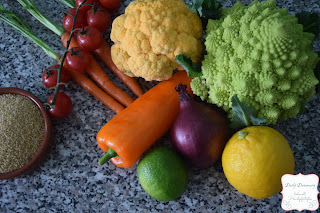 Gastbeitrag - Gemüse-Couscoussalat - C&B with Andrea