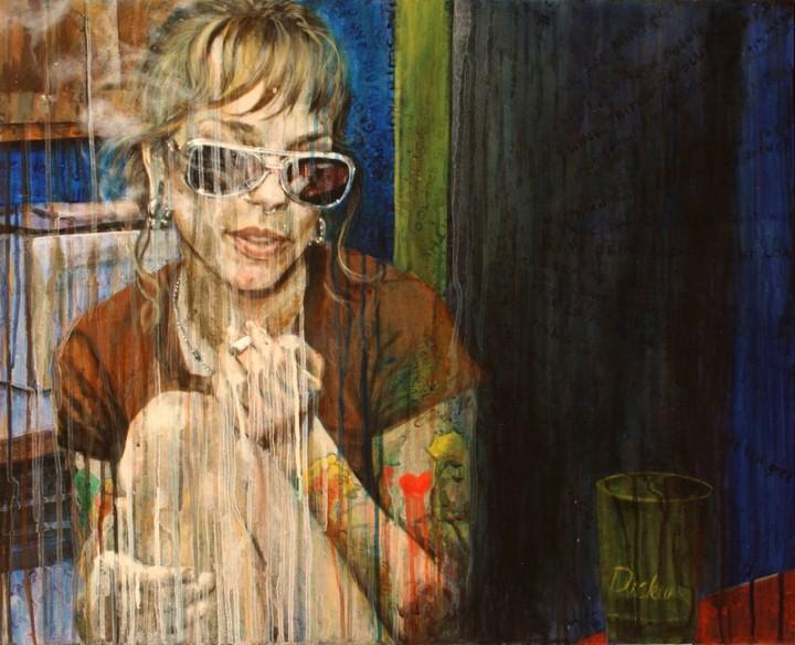 Thea Wolfe. Рисунки акварелью 8