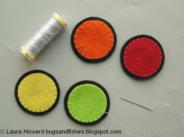 stitching with metallic thread
