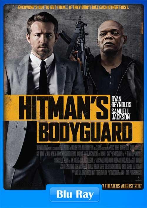 The Hitman's Bodyguard 2017 Dual Audio WEB-DL 480p 373MB ESub -300MB Movie Poster
