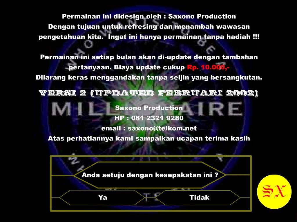 Download game milioner bahasa indonesia java.