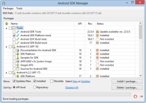 sdk-manager