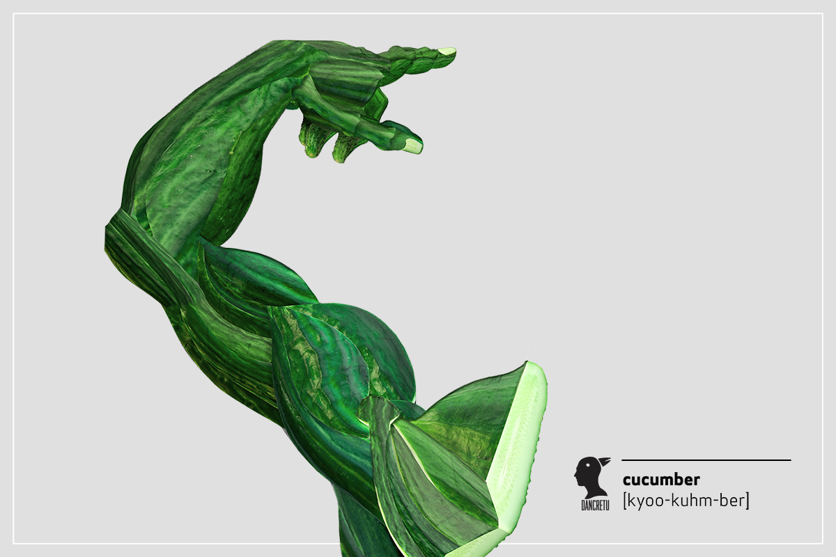 08-Arm-Cucumber-Dan-Cretu-Human-Anatomy-with-Food-Art-Sculptures-www-designstack-co