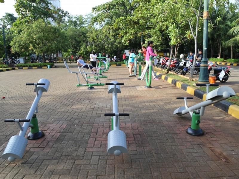 tempat fitness gratis di jakarta