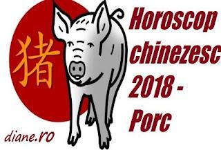 Horoscop Porc 2018