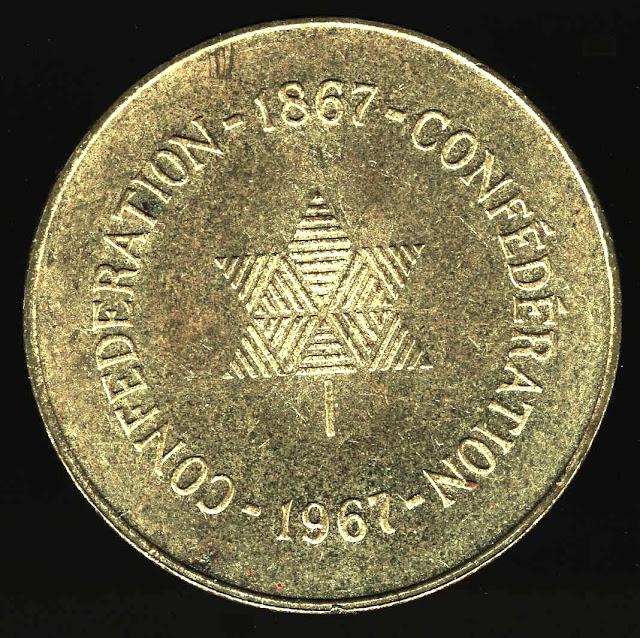 1967 centennial medalion Canada