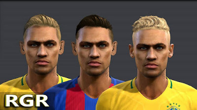 PES 2013 Neymar JR (Three Version)