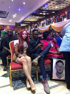 BBNaija: Nina Finally Meets Miracle's Mum As Imo State Governor Okorocha Host Miracle  (Photos)