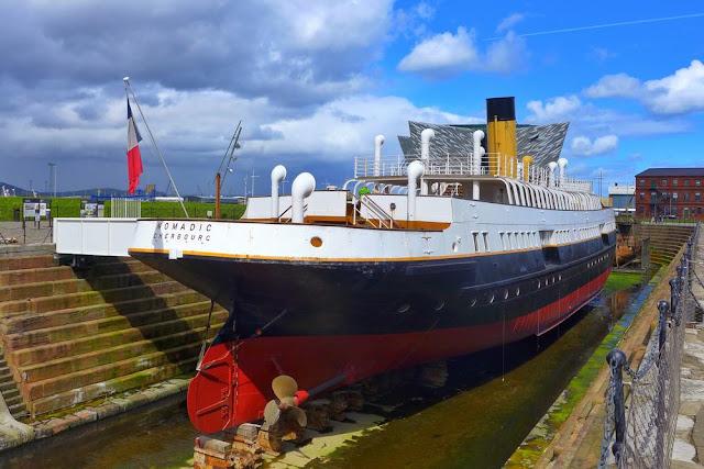 Dique seco en el que se construyó el Titanic en Belfast