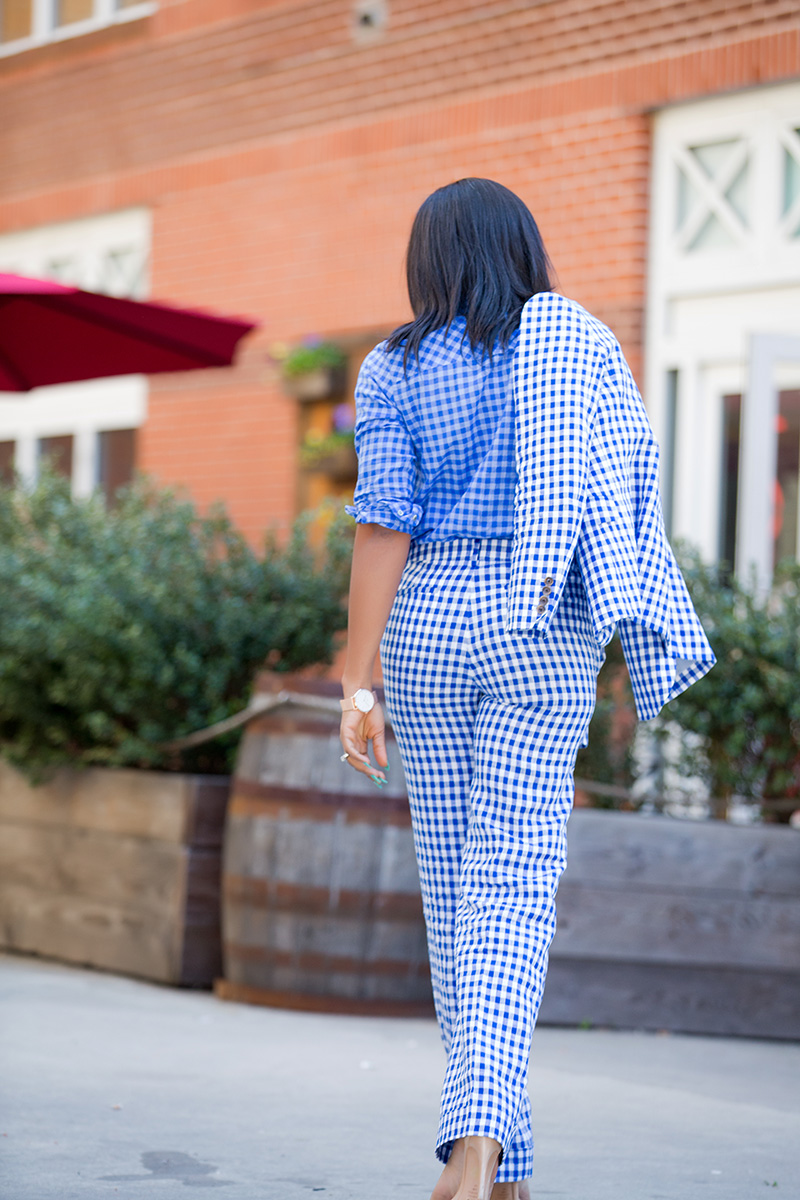 Jcrew gingham trend, schutz sandals, www.jadore-fashion.com