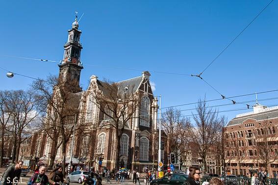 Iglesia Westerkerk en diez cosas que ver en Amserdam
