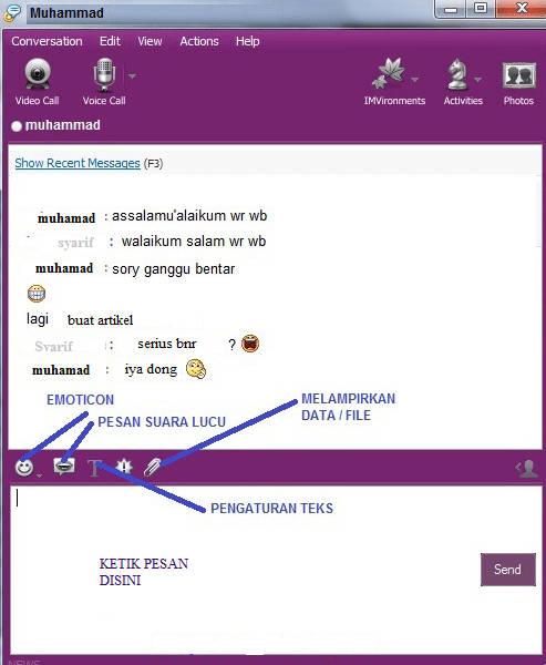Tutorial Lengkap Cara Chatting Menggunakan Yahoo Messengger