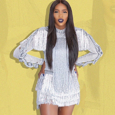 Malo Crooner, Tiwa Savage Wows In New Makeup Photos