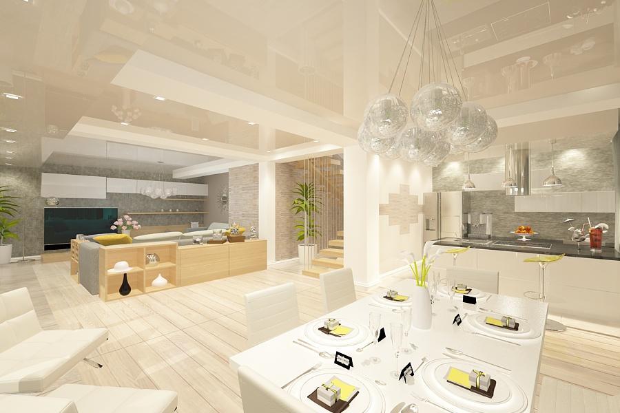 Design interior casa moderna - Bucuresti