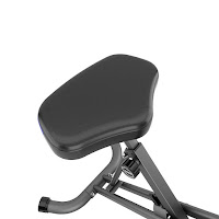 Fitness Reality U2500's large cushioned seat, image