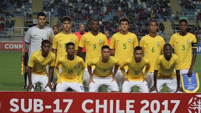 Brazil vs England U17 Live Stream