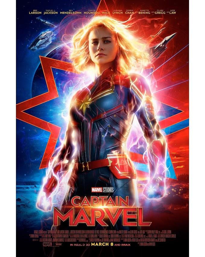 Capitã Marvel: Divulgado pôster oficial e confirmado data de lançamento do trailer