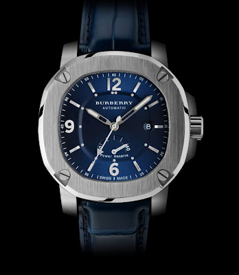 Burberry 'The Britain' stainless steel POWER RESERVE AUTOMATIC watch BBY1001