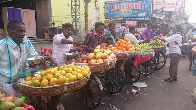 vendeurs fruits ambulants tamil nadu