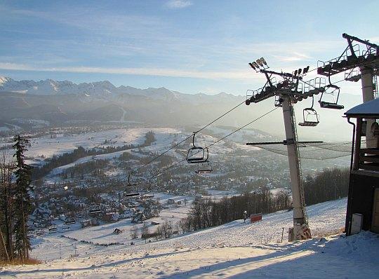 """Ośrodek narciarski """"Harenda""""."""