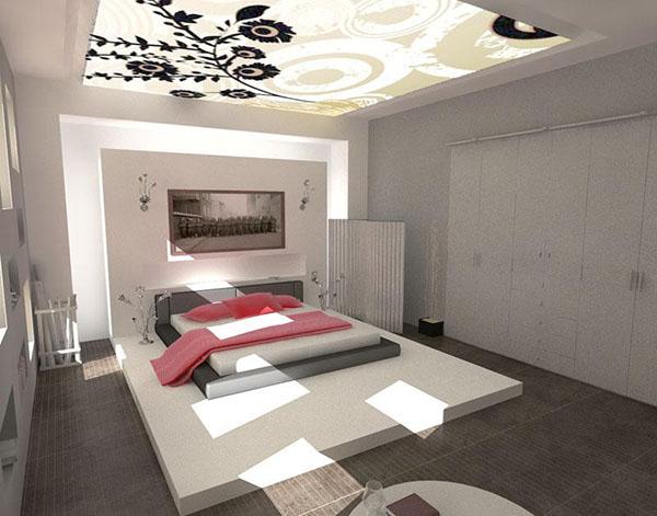 Mẫu trần phòng ngủ lãng mạn 1
