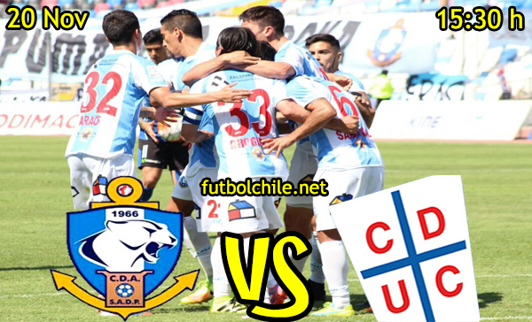 Ver stream hd youtube facebook movil android ios iphone table ipad windows mac linux resultado en vivo, online: Deportes Antofagasta vs Universidad Católica
