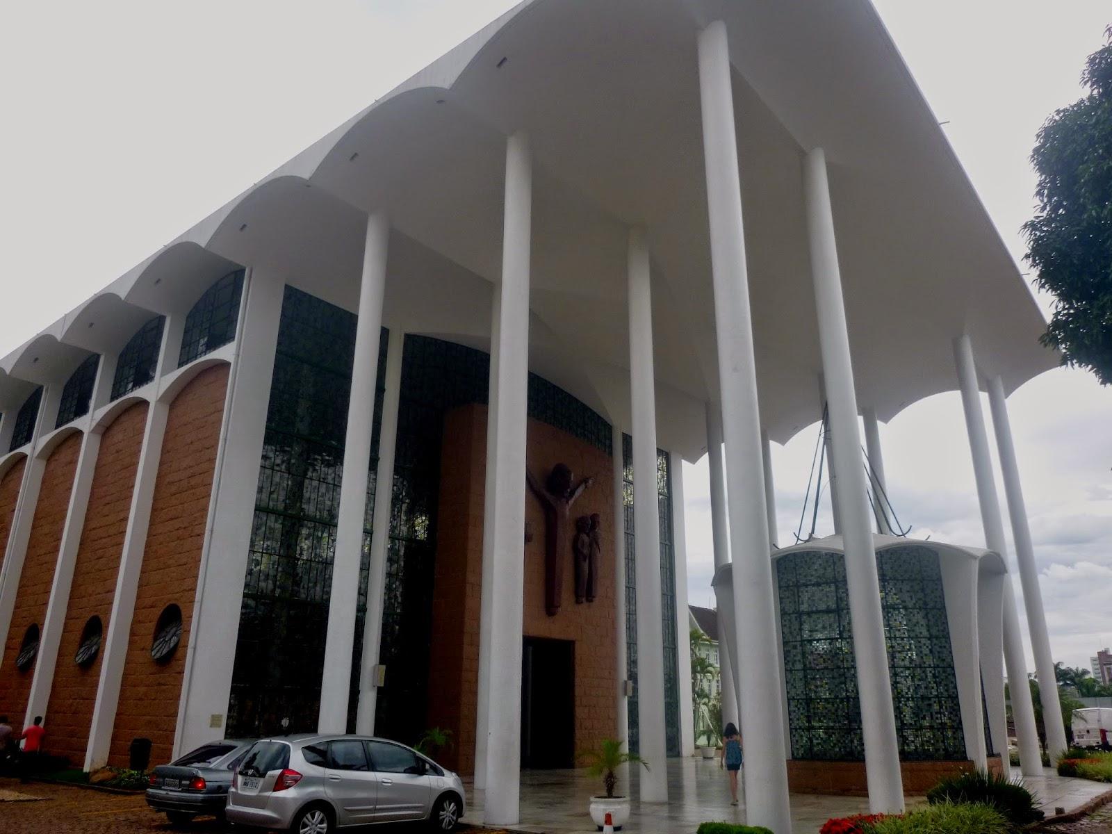 Catedral São Paulo Apóstolo - Blumenau - SC - TURISMO E VIAGEM