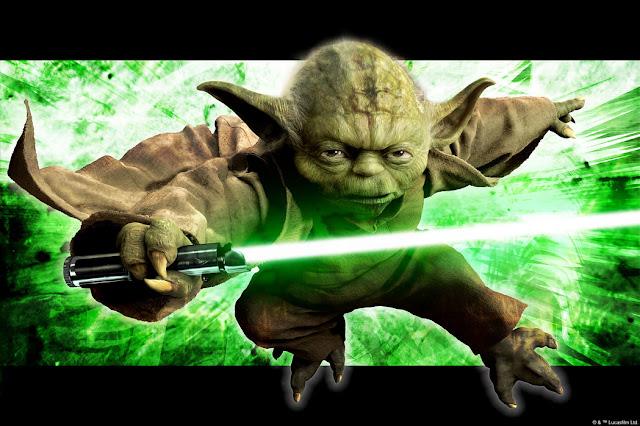 3D Tapetti Star Wars Tapetti Yoda