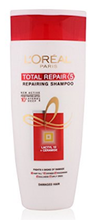 L'Oreal Paris Total Repair 5 Repairing Shampoo Review