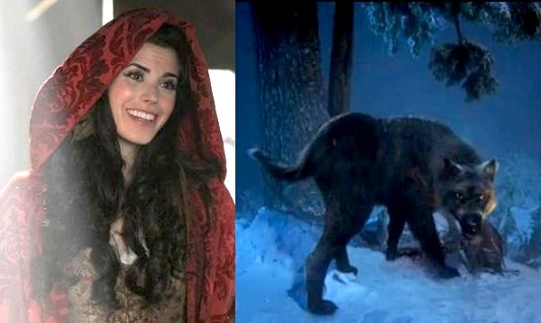 Once Upon a Time - Red Riding Hood (Meghan Ory), black wolf