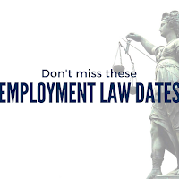 Don't Miss These 2018  Employment Law Dates