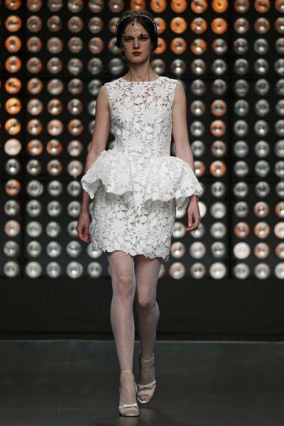 vestidos de novia cortos y sencillos