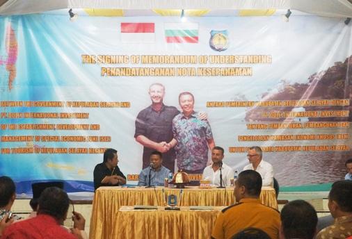 Bupati Teken MoU Investasi Pembentukan Dan Pembangunan, KEK Pariwisata