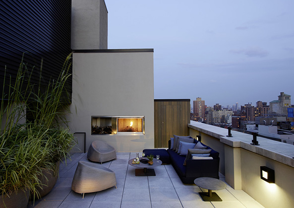 Sophisticated modern luxurious New York penthouse designed by Piet Boon - found on Hello Lovely Studio