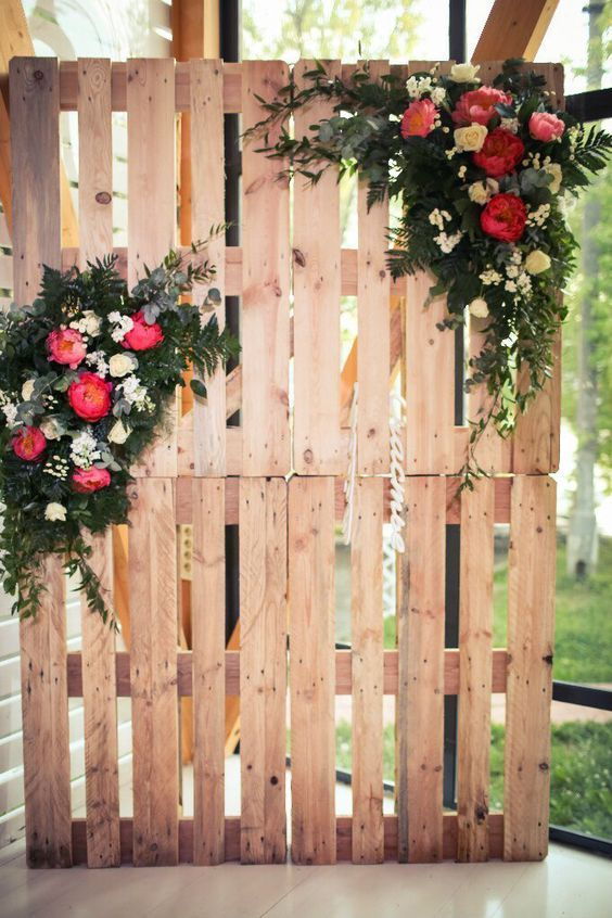 DIY Rustic Decorations Made of Pallets for Your Wedding ...