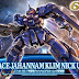 HGRC 1/144 Space Jahannam[Klim Nick Use] - Release Info, Box Art and Official Images