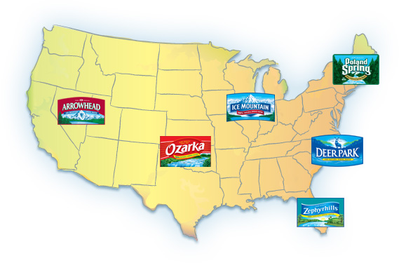 Poland Springs Maine Map.The Nestle Take Over Effects Of Bottled Water