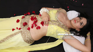 Sakshi Chodary in Yellow Transparent Sareei Choli Spicy Pics 03 .xyz.jpg