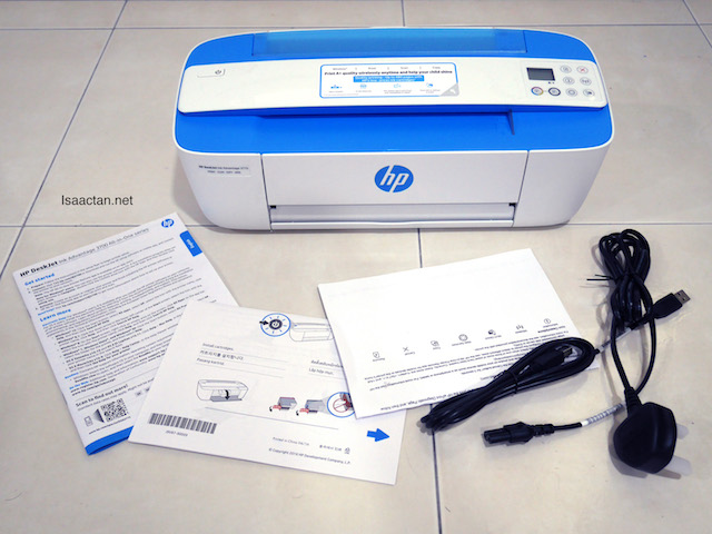 The HP Deskjet Ink Advantage 3775 All-in-One - Unboxed