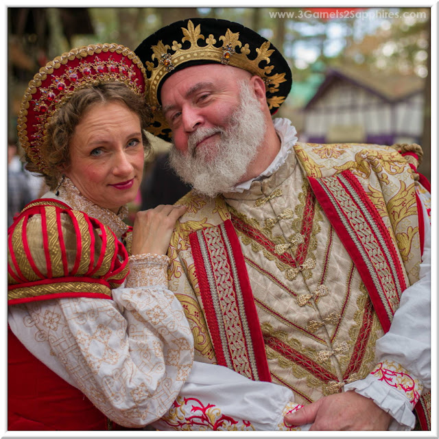 King Richard and Queen Anne of King Richard's Faire