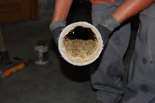 Limpieza de tuberías con métodos caseros