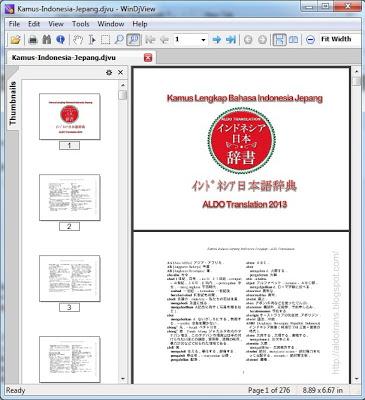 kamus bahasa jepang